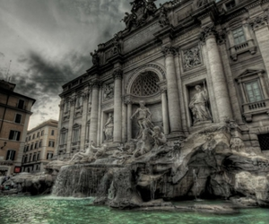 fountain and water image