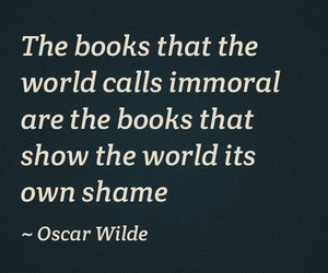 book, oscar wilde, and quote image
