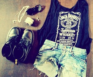 fashion, jack daniel's, and yolo image