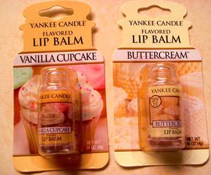 cupcake, lip balm, and yankee candle image