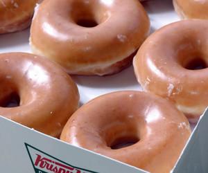donuts, food, and doughnuts image