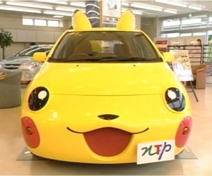 car, pikachu, and cute image