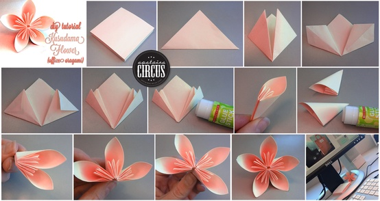 Kusudama flower folding instructions origami instruction mightylinksfo