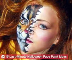 amazing, face painting, and art image