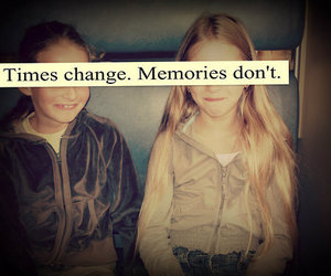 memories, change, and quote image