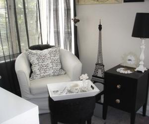 cup, paris, and pillow image