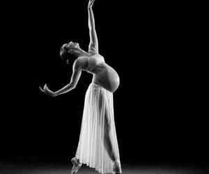 ballet, dance, and pregnant image