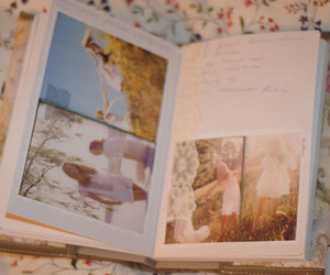book, flowers, and memories image