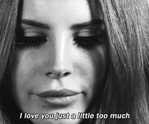 lana del rey, love, and quotes image
