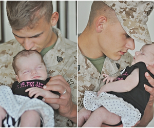 army, cute, and baby image