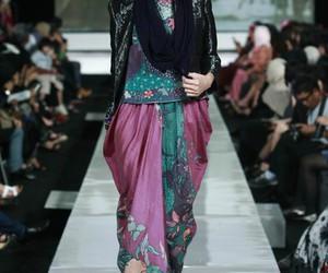 fashion, headscarf, and jakarta image