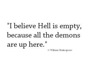 demons, hell, and here image