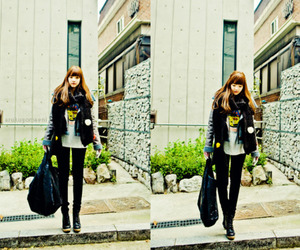 fashion, korean, and girl image