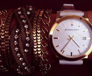fashion, watch, and Burberry image