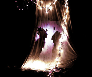 faeries, sheets, and lights image