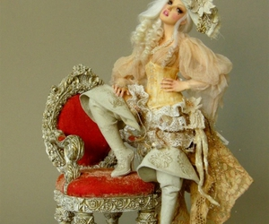 art, baroque, and doll image