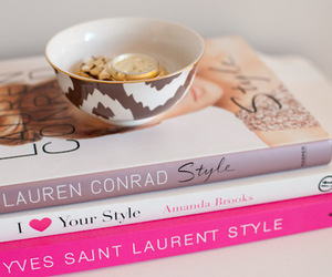 book, fashion, and lauren conrad image