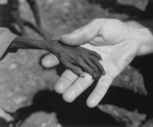 sad and africa image