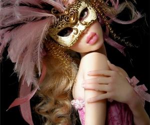 baroque, doll, and masquerade image
