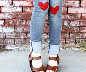 diy, heart, and look image