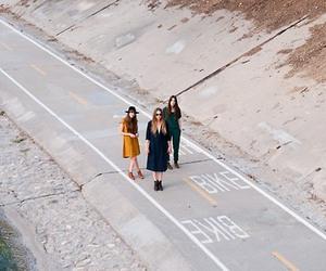 road, sisters, and haim image