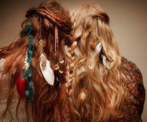 hair, hippie, and indie image