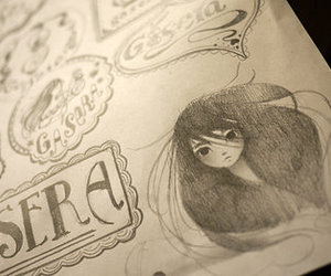 audrey kawasaki, illustration, and typography image