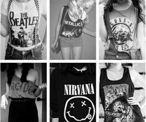 nirvana, rock, and ACDC image