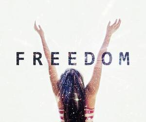 freedom and text image