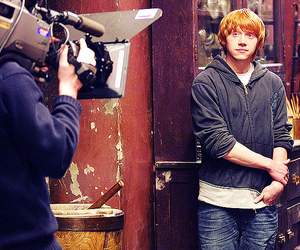 harry potter, lindo, and ron weasley image