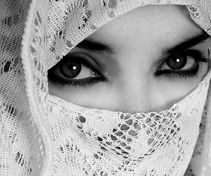 eyes and black and white image
