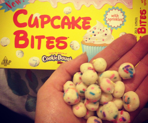 bites, candy, and cupcake image