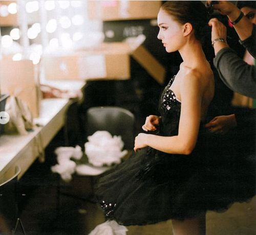 backstage, ballet, and bokeh image