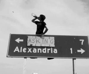 asking alexandria, band, and music image