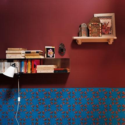 blue, bookshelf, and quarto image