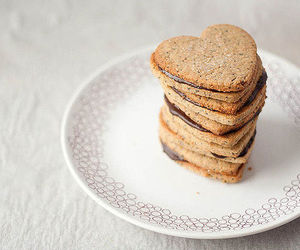Cookies, heart, and cake image