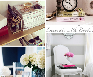 accessories, book, and books image