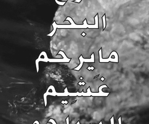 arabic, drown, and proverb image