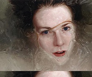 Alyssa Monks, painting, and beauty image