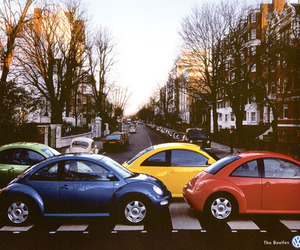 car, beatles, and the beatles image