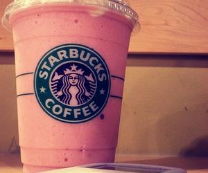 starbucks, pink, and ipod image