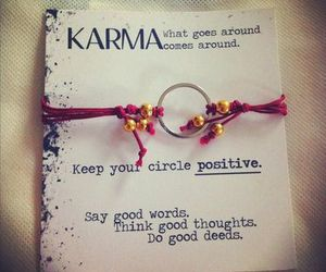 karma, quote, and positive image