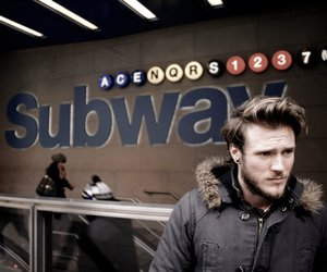 dougie poynter, McFly, and subway image