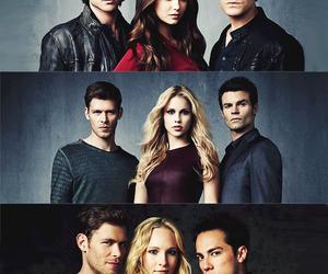 Vampire Diaries, ian somerhalder, and Nina Dobrev image