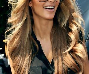 kim kardashian, hair, and blonde image