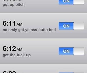 alarm clock, fuck, and girly image