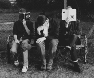 black and white, indie, and the radio dept image