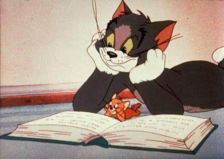 tom and jerry, cartoon, and book image