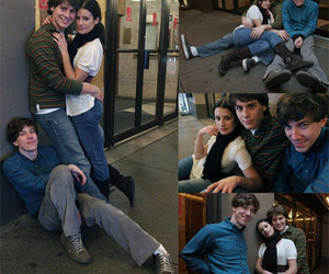 john gallagher jr, jonathan groff, and lea michele image