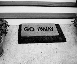 away, go away, and door image